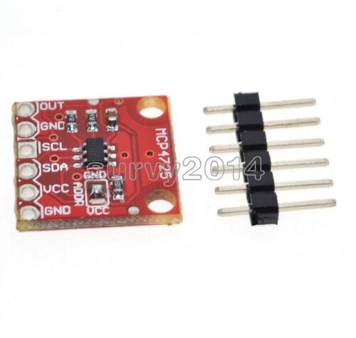 1//2//5PCS MCP4725 I2C DAC Breakout Development Board module 12Bit Resolution