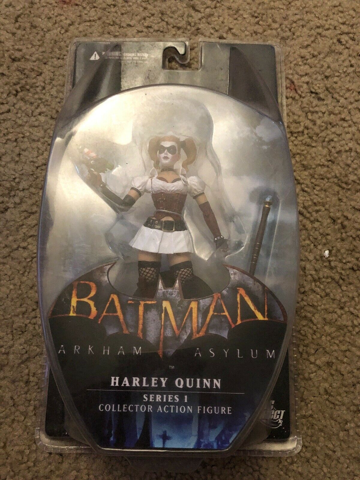 DC Collectibles Arkham Asylum Harley Quinn azione cifra Series 1