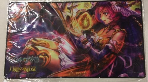 Force Of Will Moon Priestess Playmat For Trading Card Game TCG CCG