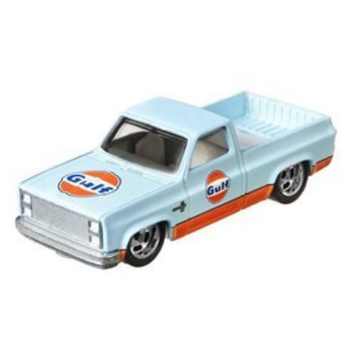 - Vintage Oil Hot Wheels Premium 2020 /'83 Chevy Silverado Pre-Order Gulf