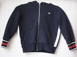 68a5c9303e5 Image is loading GUCCI-BABY-NAVY-WEB-SWEATSHIRT-9-12-MONTHS