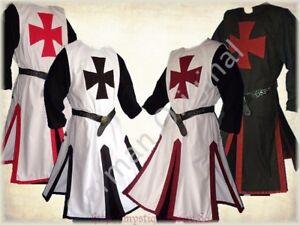 Medieval Templar Knight Crusader Surcoat /& Cloak Reenactment SCA Larp German