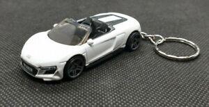 Hot Wheels 2019 Audi R8 Spyder Keychain Keyring