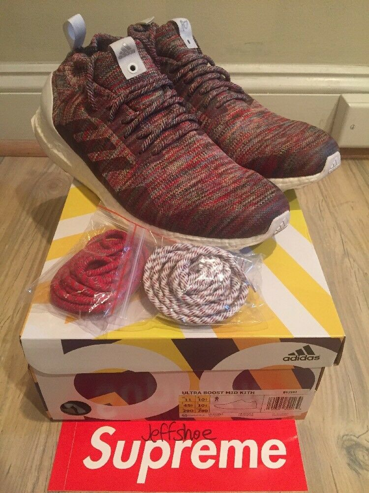 Adidas x Ronnie Fieg Kith Consortium Ultra Boost Mid  Aspen  Size 11
