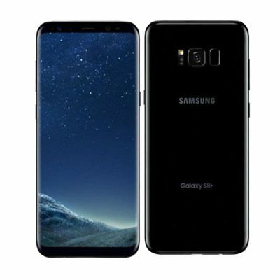Samsung Galaxy S8+ Plus G955FD Duos LTE 64GB Midnight Black Nuevo
