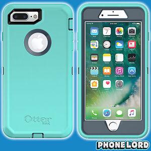 newest 0e716 b2718 Details about Genuine OtterBox Defender case cover iPhone 7 8 PLUS TOUGH  Borealis Aqua Teal