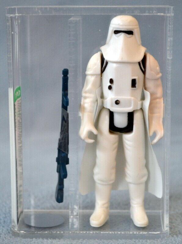 1980 U85 Near Comme neuf + figurine Autorité Star Wars Hoth Snowtrooper (unigoggle) figurine Kenner CH Coo