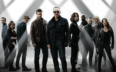 """030 Hot Movie TV Shows - Agents of SHIELD Season 3 22""""x14"""" Poster"""