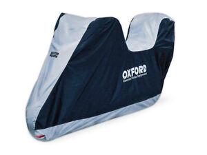 Coprimoto-Con-Bauletto-Oxford-Aquatex-Universale-TG-L-CV205-Nylon-Doppio-Strato
