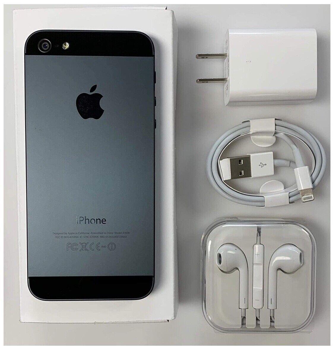 Apple iPhone 5 – 16GB – Black- Unlocked