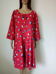 YUMI-Robe-imprimee-a-coupe-evasee-taille-54-SUPERBE