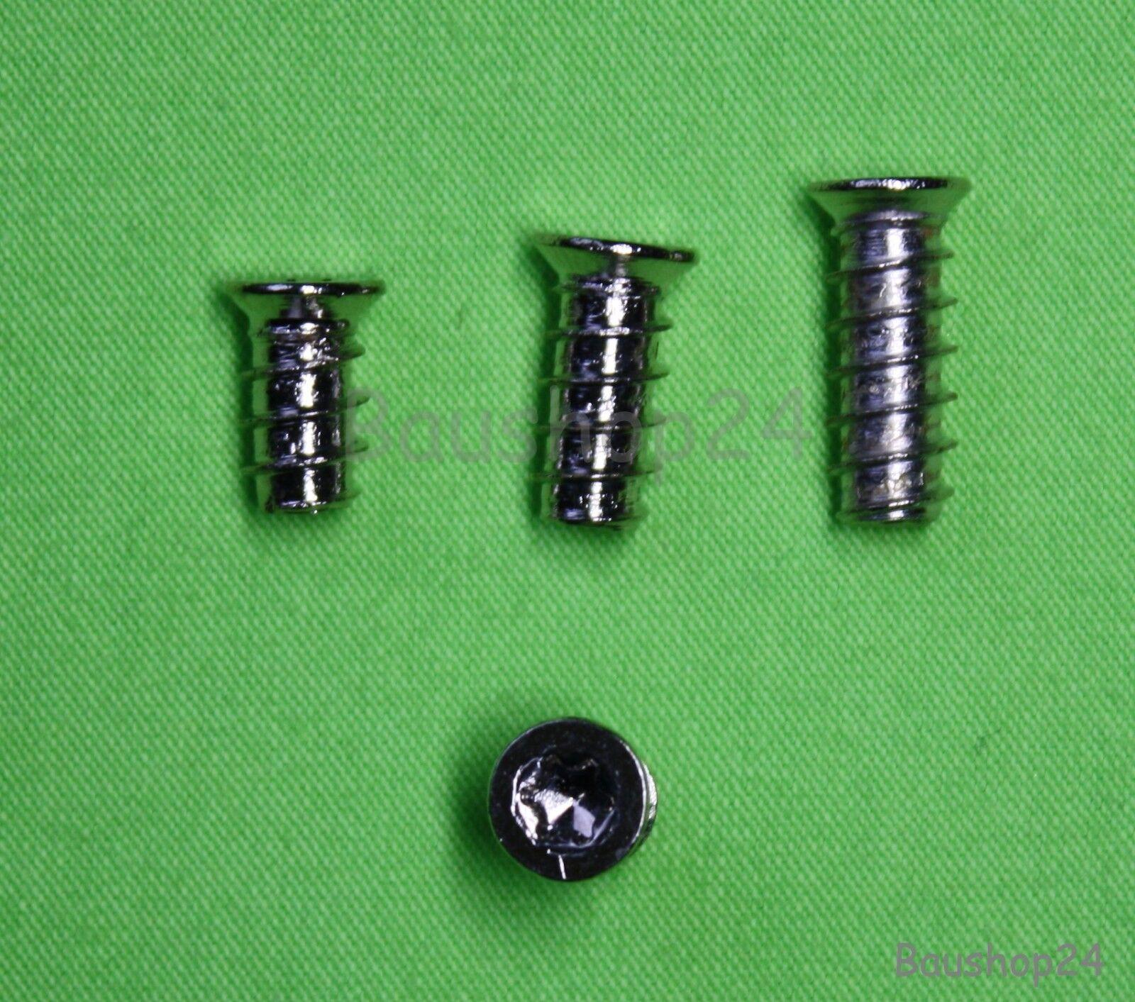 Euroschraube, Möbelschraube, Verbinderschraube 10,5mm  13,5mm  16mm 16mm 16mm  20-1000 St.   Erste Gruppe von Kunden  f9bcbb
