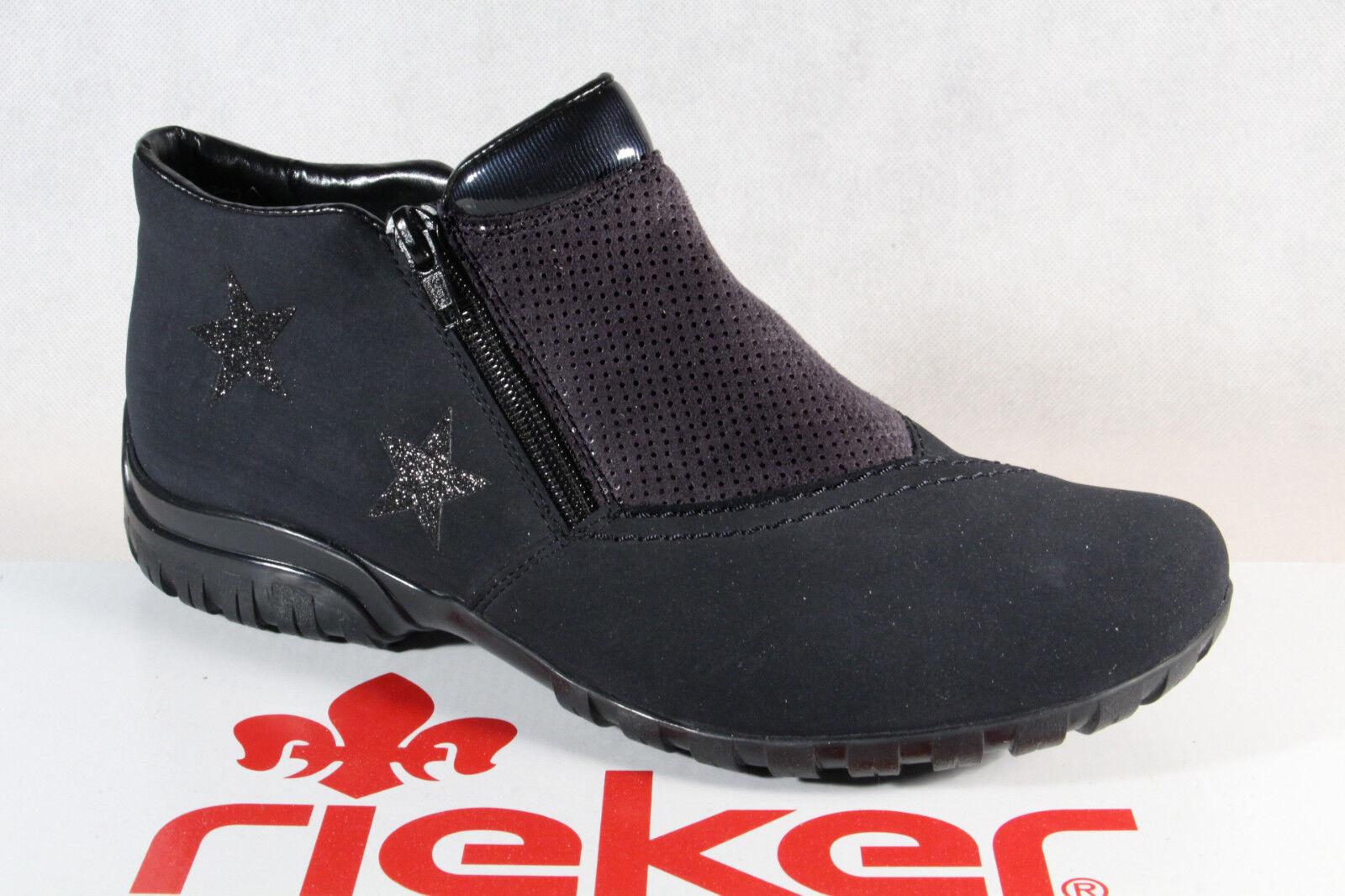 Rieker Pantofola Stivaletti Scarpe Basse Stivali Scarpe Importanti L4674 Nuovo