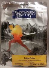 2 Servings Backpacker/'s Pantry Creme Brulee