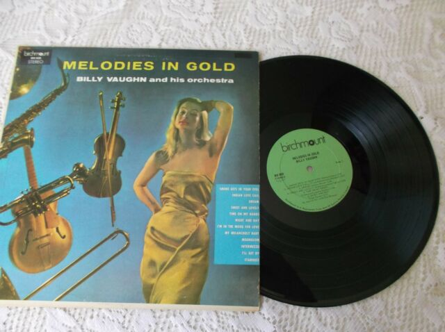 Billy Vaughn  Melodies in gold LP Album  Canada pressing