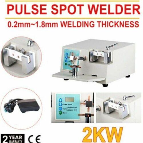 Dental Spot Welder oral welding machine Orthodontic Material Heat Treatment WDII