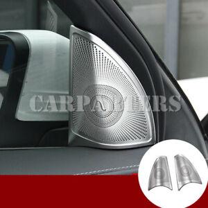 For-Mercedes-Benz-GLC-X205-X253-Inner-Car-Door-Loud-Speaker-Cover-Trim-2015-2019