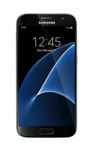 Samsung Galaxy S7 Sm G930a 32gb Black Onyx At T For Sale Online Ebay