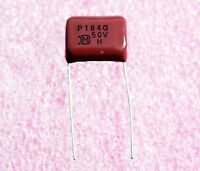 Panasonic 0.18uf, 50v Polypropylene Capacitor - Lot Of 10 ( 28p280 )