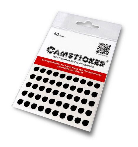 Sticker COPERTURA 50 camsticker-Nero Opaco protezione webcam ADESIVI