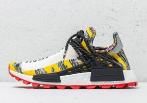 b39553556 Adidas x Pharrell Williams Hu Human Race NMD Solar BB9527 Sz 9.5 ...