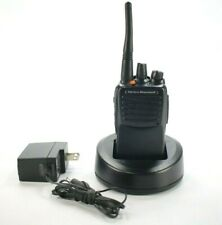 Vertex Standard Vx 451 G6 5 Two Way Radio With Dock Charger Amp Belt Clip Ae