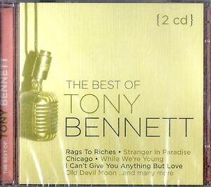 TONY-BENNETT-The-Best-Of-2CD-NEW-Sigillato