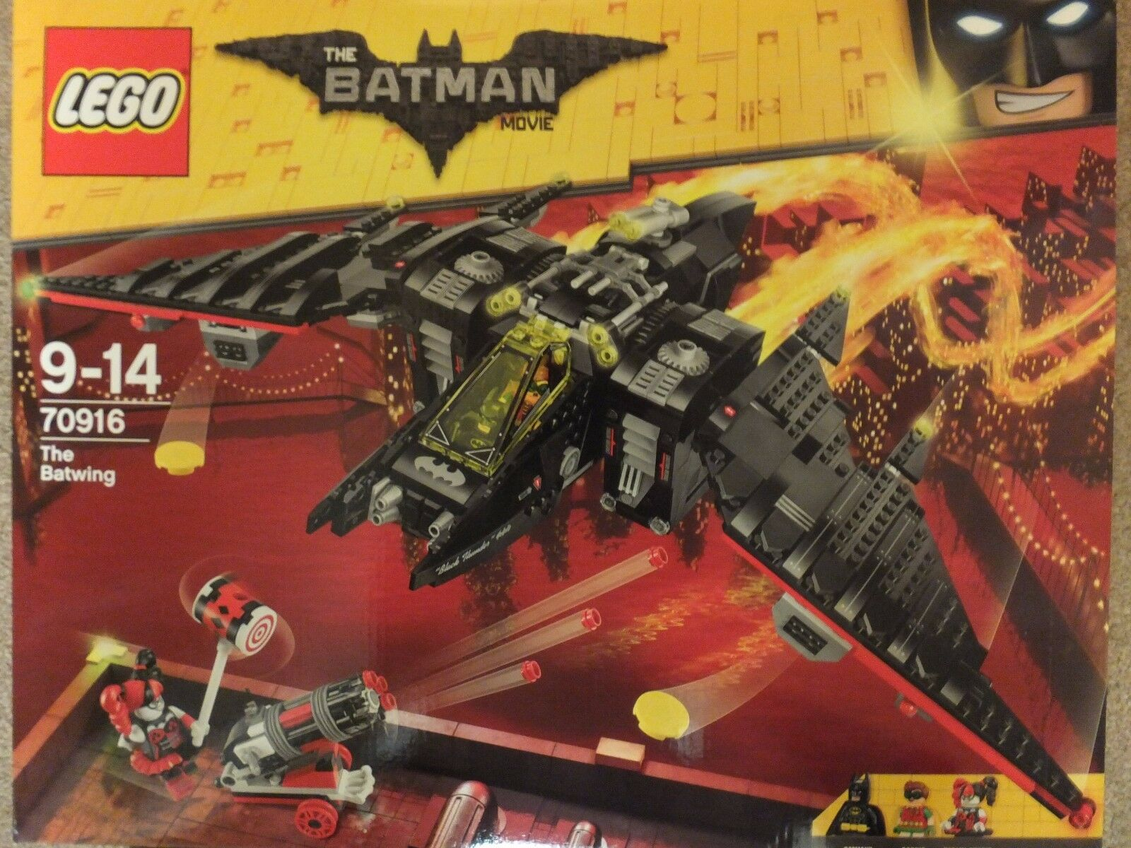 Lego 70916 Batman Movie The Batwing Set