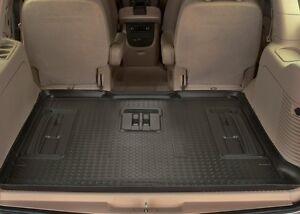 Husky-Liners-Classic-Style-Floor-Mats-Cargo-22701-Escalade-Suburban-Yukon-Black