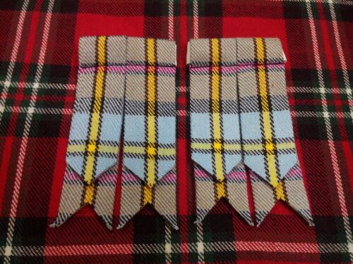 Écossais Kilt clignote MacLeod de Harris Tartan Chaussettes Kilt kilt pin tuyau clignote