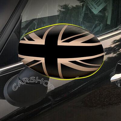 For MINI Cooper F54 F55 F56 F57 F60 Union Jack UK Car Door Side Mirror Cover