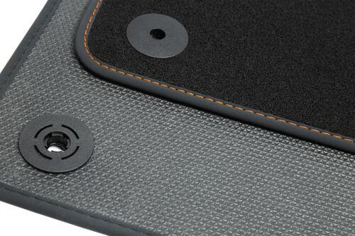 Ganzjahres Fußmatten für Seat Leon 3 5F SC 3-Türer SC FR Cupra Style Bj 2013