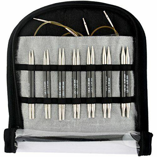 Knitter/'s Pride KP110605 Karbonz Deluxe Special Interchangeable Needle Set