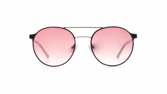 GUESS GU 3023 Sunglasses 02u Matte Black 100 Authentic for sale online |  eBay