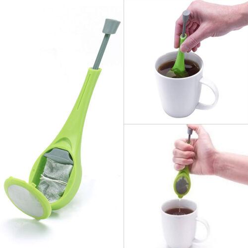 HOME Accessories HOT in silicone Swirl agitare Colino per tè GADGET tè infus