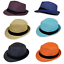 UNISEX FEDORA STRAW HATS H-009