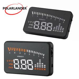 Voiture-3-039-039-HUD-Compteur-de-vitesse-Alarm-Projecteur-Affichage-tete-haute-Speed
