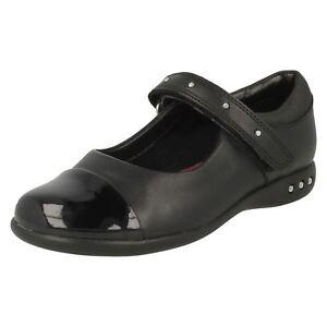 Walk la de Girls cuero escuela Prime inteligentes Clarks zapatos de qgpUUx