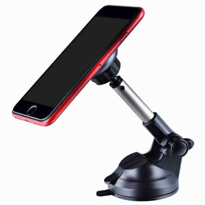 "Universal Magnetic Phone Car Mount Holder Dash Window Desktop 3.5""-6"" Tablet GPS"