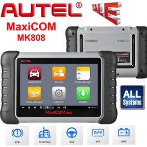 AUTEL MaxiCOM MK808 OBD2 II EOBD Scanner Valise Diagnostique Auto MX808 Outils