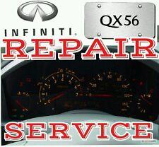 FOR 2004 2005 2006 2007 Infiniti QX56 INSTRUMENT CLUSTER REPAIR SERVICE