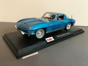 Maisto-1965-Chevrolet-Corvette-2020-Edicion-Especial-1-18-Nuevo-en-Caja-31640