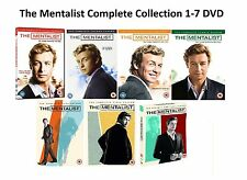 The Mentalist Complete Series Collection 1-7 DVD Season 1 2 3 4 5 6 7 UK Release