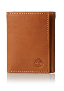 Timberland-Men-039-s-Cloudy-Trifold-Leather-Wallet