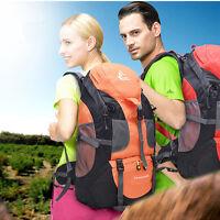 Men Women 50l Sport Travel Hiking Backpack Day Pack Camping Rucksack Waterproof
