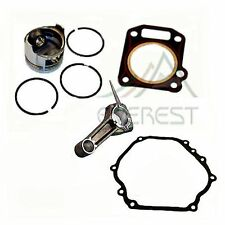 Honda GX270 9hp PISTON /& RING PIN /& CLIPS WITH CONNECTING ROD  FREE HEAD GASKET
