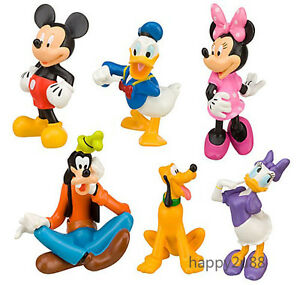 image is loading 6pcs disney mickey mouse clubhouse figure figurine cake - Mickey Mouse Clubhouse Christmas
