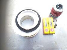 Service Kit Yamaha XVS 650 DragStar, Spark Plugs,Air/Oil Filter & Sump Plug