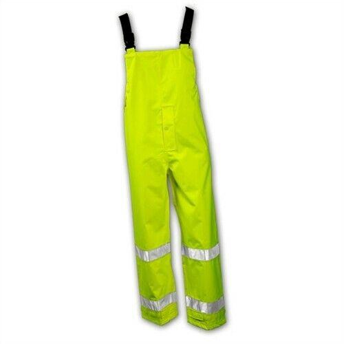TINGLEY O23122.LGRain Bib OverallsLARGE Yellow Waterproof Windproof