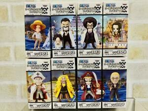 ONE PIECE World Collectible Figure Vol.0 8 Types Complete Set